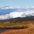 雲上の鳥海山