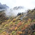 Photos: 噴煙地帯