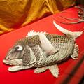 長崎刺繍、鯛