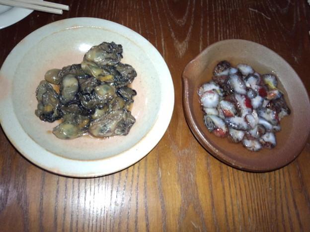 カキの佃煮&ナマコ