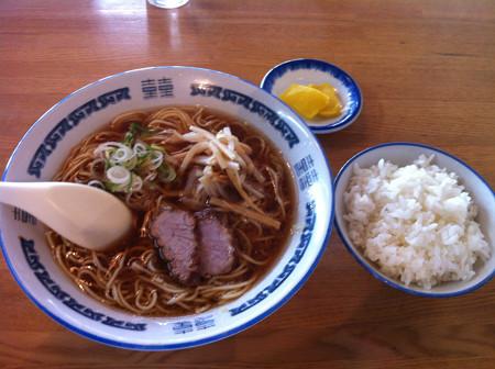 みづの 生姜ラーメン+ライス