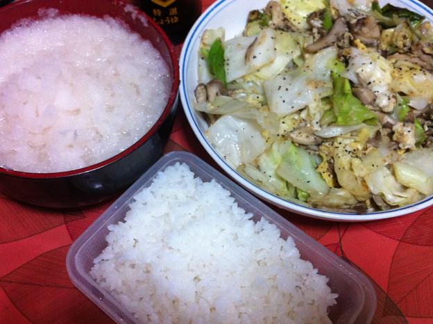 Photos: 20120823夕食