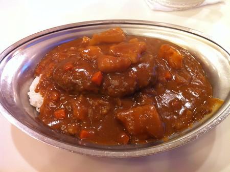 インデアン 野菜ハンバーグカレー