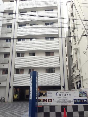 今回の宿 ホテル中央オアシス