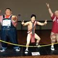 写真: 通天閣劇場内の安田大サーカス