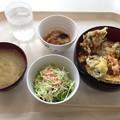 写真: 下水道局庁舎食堂 天丼