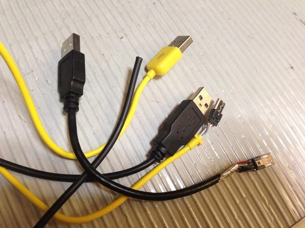 写真: Factory Cableを作るために無駄にしたケーブルの屍