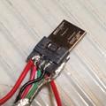 写真: 自作Factory Cable