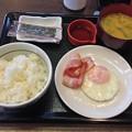 写真: 朝食