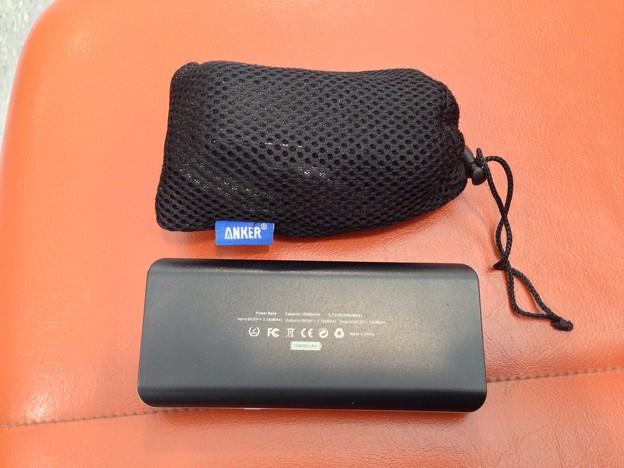 写真: モバイルバッテリーは受託手荷物では預けられません