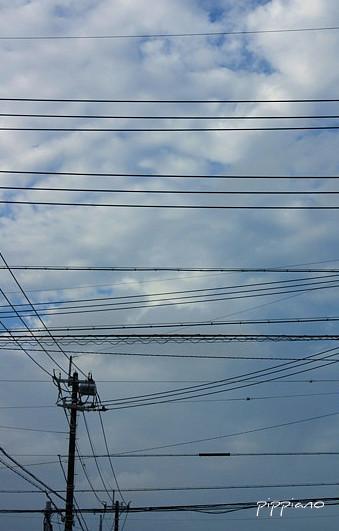 日本の空は いそがしい