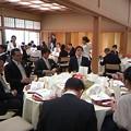 Photos: 和風披露宴会場。はじめてだ。