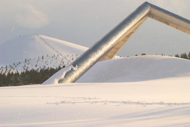 Photos: 夕暮れ雪