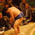 Photos: 高見盛(振分)気合いれ3