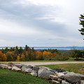 The Stone Wall and Sebago Lake 10-7-12