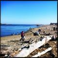 写真: Popham State Beach on Sunday 3-18-12