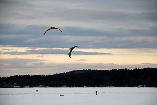 Photos: Kiteboarding 2-16-13