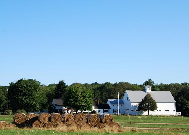 Photos: The Bales and the Farmhouse 8-25-13