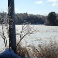 写真: Ice at Penneville Rd. 12-25-13