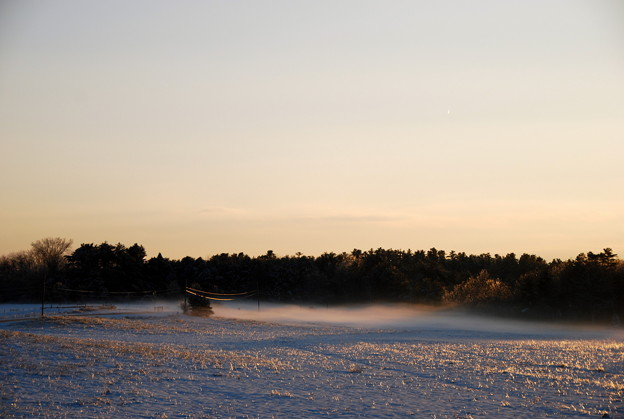 写真: The Fog over the Ice and the Snow 12-28-13
