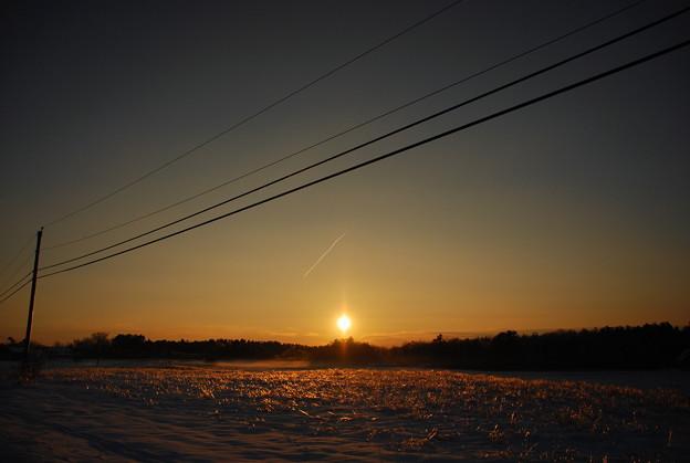 The Sun Setting 12-28-13