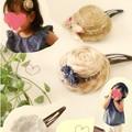 Photos: ペットボトルキャップで帽子ピン
