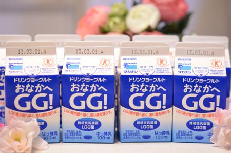 タカナシ乳業ドリンクヨーグルト『おなかへ GG!』 (1)