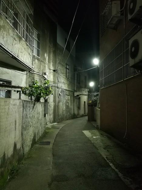 写真: 路地裏