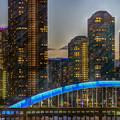 Photos: 永代橋と月島の高層マンション群