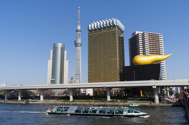 隅田川を下るホタルナ