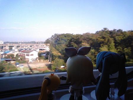 上越新幹線と分岐! どんどん加速していくよ!