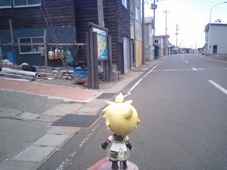 さて龍飛崎灯台まで、国道339号を歩くとしましょうか(゜∀゜) レン:...