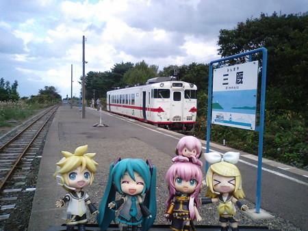 上りは青森駅まで、この列車が直通します。 ■三厩  15:21 → 青森  1...