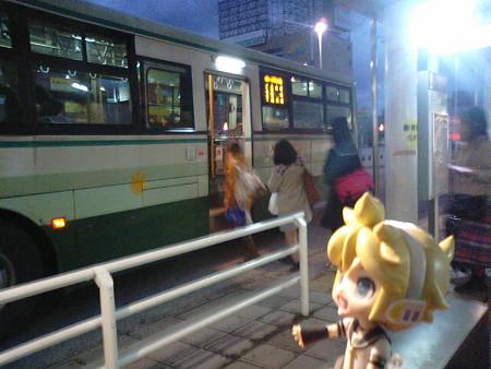 ■青森駅 17:17 → イトーヨーカドー 17:45      バス(青森市営)