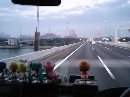【みっくみくエクスプレス】箱根行き往路 出発より 30分経過 現在地: ...