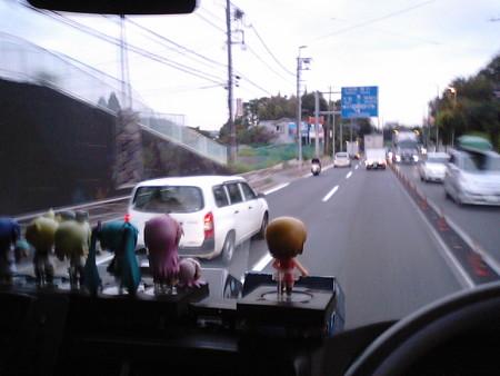 【みっくみくエクスプレス】箱根行き往路 出発より 1時間経過 現在地:...