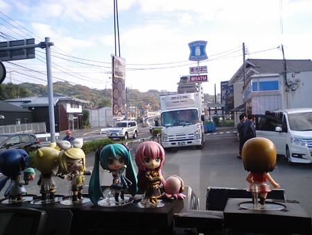【みっくみくエクスプレス】箱根行き往路 出発より 2時間40分経過 現在...