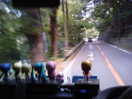 【みっくみくエクスプレス】箱根発復路 出発より 25分経過 現在地: 箱...