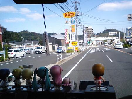 【みっくみくエクスプレス】箱根発復路 出発より 36分経過 現在地: 小...