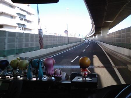 【みっくみくエクスプレス】箱根発復路 出発より 1時間30分経過 現在地...
