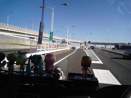 【みっくみくエクスプレス】箱根発復路 出発より 1時間55分経過 現在地...