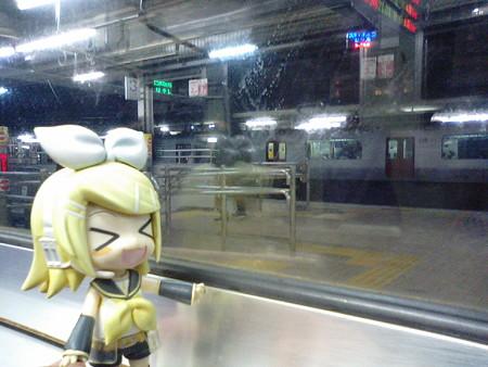 別府駅に停車。3分遅れ。