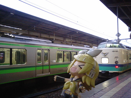 リン:「新潟駅ついて早々、落雷キターー!! なんか、さっき初日の...