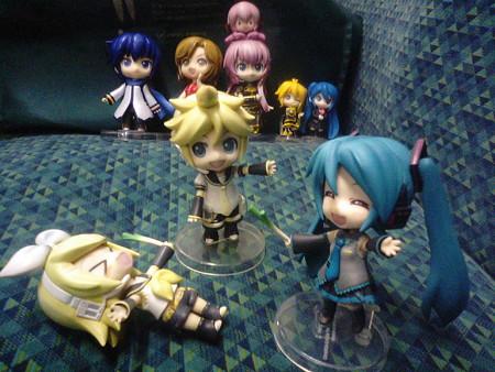 ミク:「えぇぇぇーーーーぃぃ!!!!!」 リン:「うにゃーんまた負...