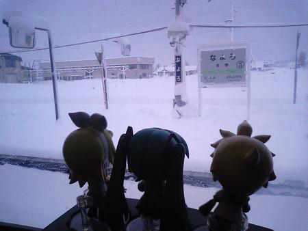 ミク:「名寄地方は、岩見沢地方と並んで、雪が深い地域なんですよね」