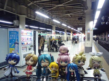 上野駅に無事に到着しました。はなたPとランデヴー(≧▽≦)ゞ