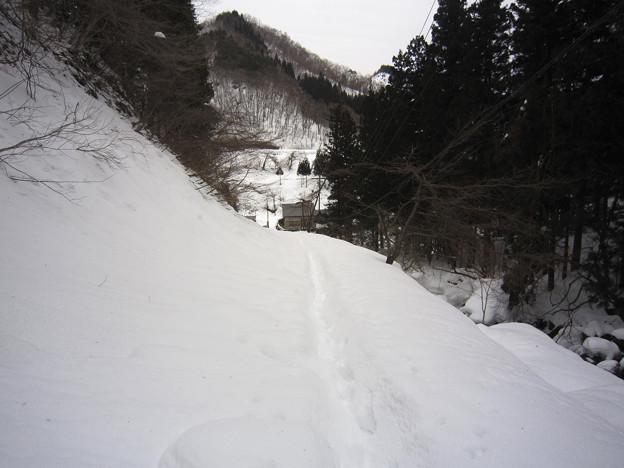 阿弥陀ヶ滝途中