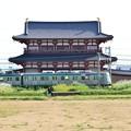 2013_1013_143639_平城宮を駆ける平安京の電車