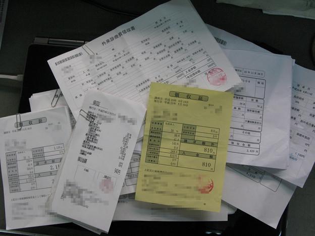 医療費控除書類