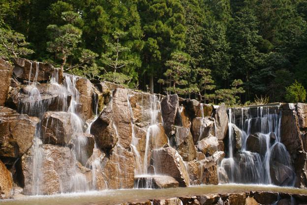 水分れ公園の滝_01